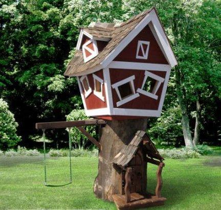 La casa sull 39 albero for Case in legno sugli alberi